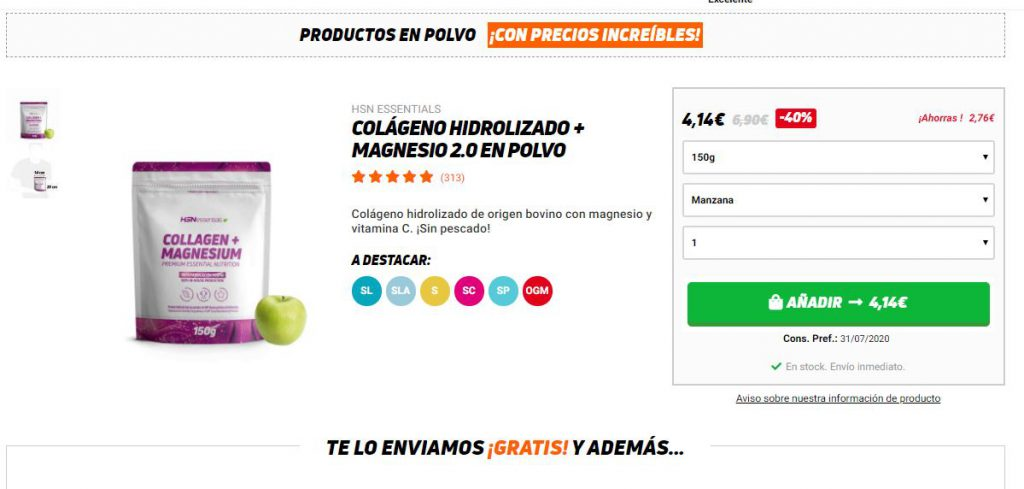 Ficha de producto perfecta e-commerce